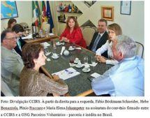 Assinatura Convênio Câmara Italiana e Parceiros Voluntários