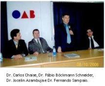 Convênio de Cooperação OAB/RS – Câmara de Fomento Brasil – Rússia.
